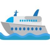 Passenger Ship on JoyPixels 1.0