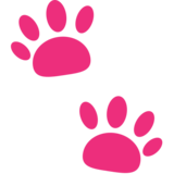 Paw Prints on JoyPixels 1.0
