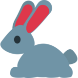 Rabbit on JoyPixels 1.0