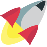 Rocket on EmojiOne 1.0