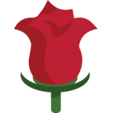 Rose on JoyPixels 1.0