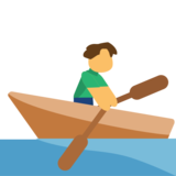 Person Rowing Boat on JoyPixels 1.0