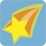 Shooting Star on JoyPixels 1.0
