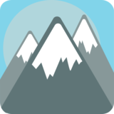 Snow-Capped Mountain on JoyPixels 1.0