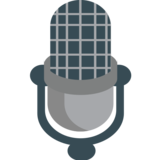 Studio Microphone on JoyPixels 1.0