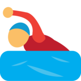 Person Swimming on JoyPixels 1.0