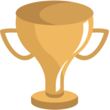 Trophy on JoyPixels 1.0