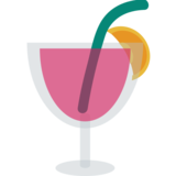 Tropical Drink on JoyPixels 1.0