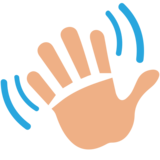 Waving Hand on JoyPixels 1.0