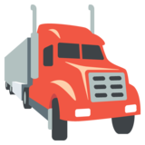 Articulated Lorry on JoyPixels 2.2
