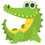 Crocodile on EmojiOne 2.2
