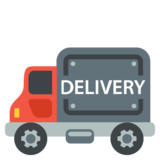 Delivery Truck on JoyPixels 2.2
