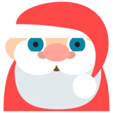 Santa Claus: Medium-Light Skin Tone on JoyPixels 2.2