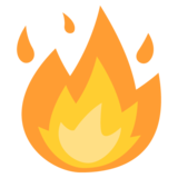 Fire on EmojiOne 2.2