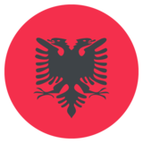 Albania on EmojiOne 2.2