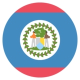 Flag: Belize on JoyPixels 2.2