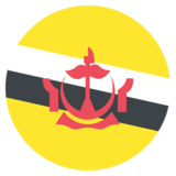 Flag: Brunei on JoyPixels 2.2