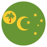 Flag: Cocos (Keeling) Islands on JoyPixels 2.2