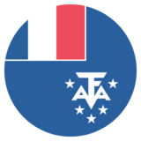 Flag: French Southern Territories on JoyPixels 2.2