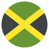 Flag: Jamaica on JoyPixels 2.2