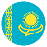 Flag: Kazakhstan on JoyPixels 2.2