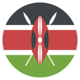 Flag: Kenya on JoyPixels 2.2