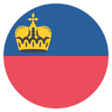 Flag: Liechtenstein on JoyPixels 2.2