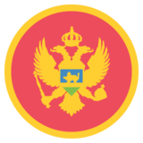 Flag: Montenegro on JoyPixels 2.2