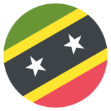 Flag: St. Kitts & Nevis on JoyPixels 2.2