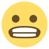 Grimacing Face on EmojiOne 2.2