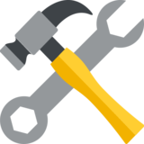 Hammer and Wrench on JoyPixels 2.2
