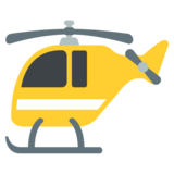 Helicopter on JoyPixels 2.2