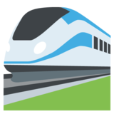 High-Speed Train on JoyPixels 2.2