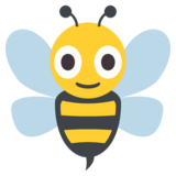 Honeybee on JoyPixels 2.2