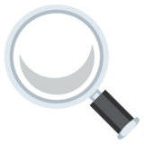 Magnifying Glass Tilted Left on JoyPixels 2.2