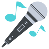 Microphone on JoyPixels 2.2