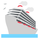 Passenger Ship on JoyPixels 2.2