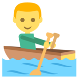 Person Rowing Boat on JoyPixels 2.2
