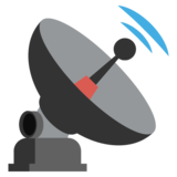 Satellite Antenna on JoyPixels 2.2