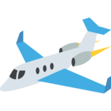 Small Airplane on JoyPixels 2.2