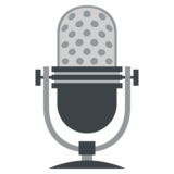Studio Microphone on JoyPixels 2.2