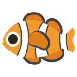 Tropical Fish on JoyPixels 2.2