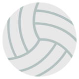 Volleyball on JoyPixels 2.2