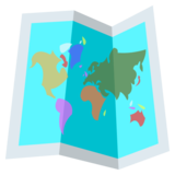 World Map on JoyPixels 2.2