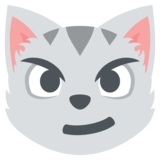 Cat with Wry Smile on JoyPixels 2.2.4
