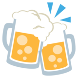 Clinking Beer Mugs on JoyPixels 2.2.4