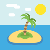 Desert Island on JoyPixels 2.2.4