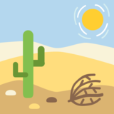 Desert on EmojiOne 2.2.4