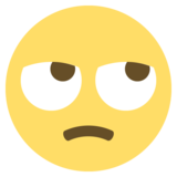 Face With Rolling Eyes on EmojiOne 2.2.4