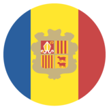 Flag: Andorra on JoyPixels 2.2.4